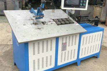 fil d'acier 3d de la vente chaude formant la machine cnc, prix de machine de recourbement du fil 2d