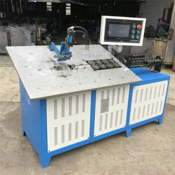 Vente chaude automatique fil d'acier 3d formant la machine cnc 2d fil prix de la machine à cintrer