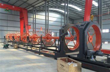 Cnc en acier machine de soudage machine à coudre en acier soudeuse couture utiliser pour la construction