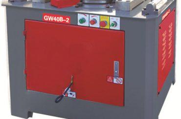 machine à cintrer les barres d'armature électriques pour le cintrage du pape en acier