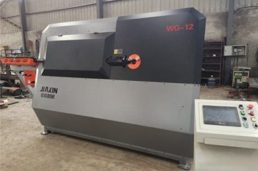 usine de tige de fer cnc automatique étrier étrier machine à cintrer