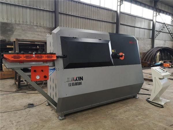 machine à cintrer hydraulique automatique de fil d'acier de commande numérique par ordinateur 2d