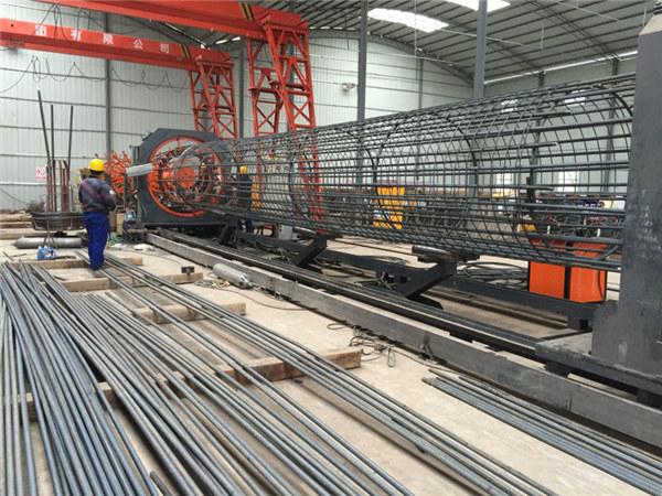 Fabriqué en Chine Opération simple Durable et robuste Assurance de la qualité en acier cage soudeuse machine de soudage et renforcement de la cage