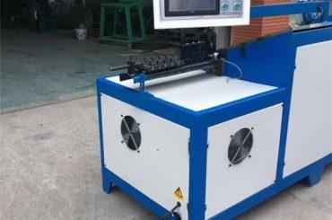 Cintre en acier de 6mm cintreuse machine universelle cintreuse de fil de cnc de panier en acier inoxydable