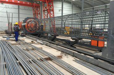 Meilleur prix machine soudée de rouleau de treillis métallique, diamètre de soudure 500-2000mm de soudeuse de cage de renfort